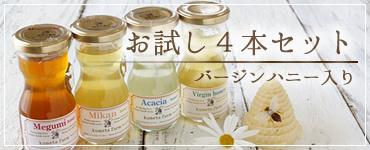 蜂蜜ギフト4本セット