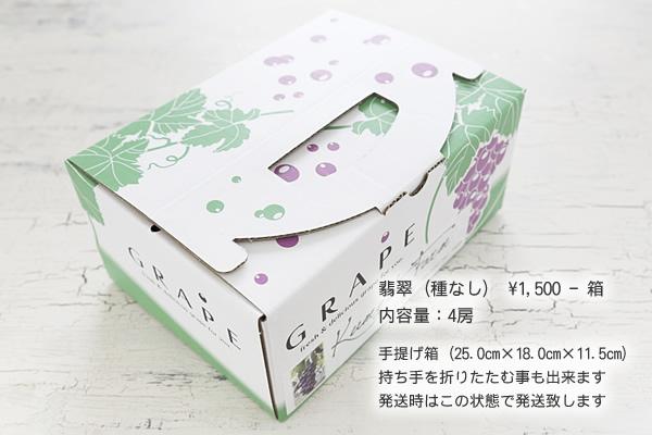 翡翠(種なし) ¥1,500-箱