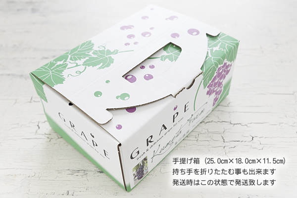 巨峰(種なし) ¥2,000-箱