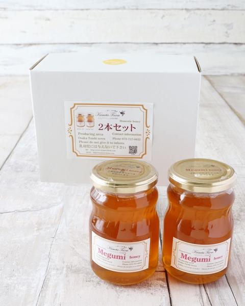 めぐみ蜂蜜(大)/2本組セット(国産100%)